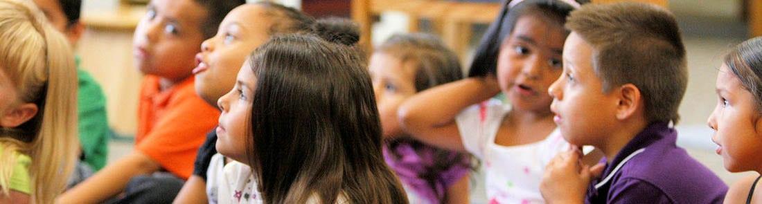EOC children in classroom