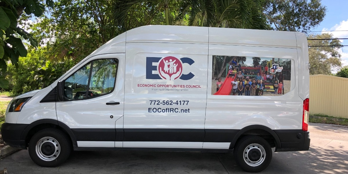 EOC maintenance van